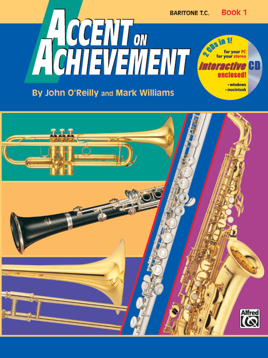 Accent on Achievement Book 1 - Baritone TC