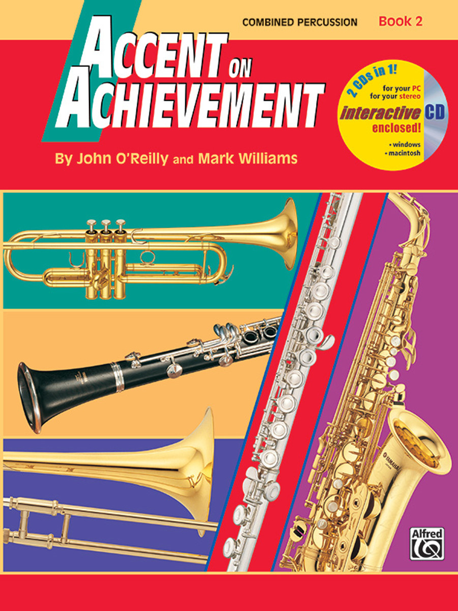 Accent on Achievement Book 2 - Combo Percussion