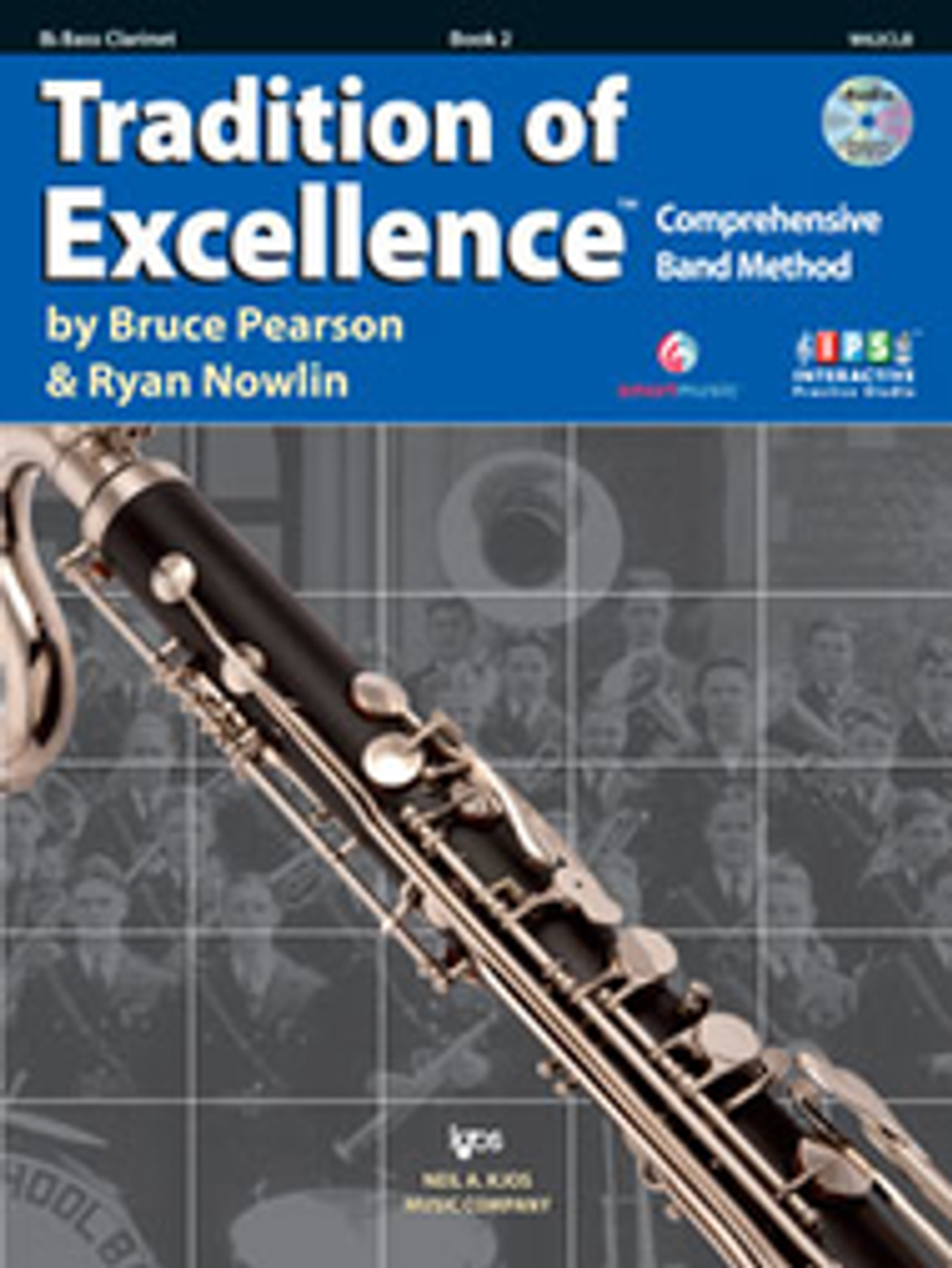 Tradition of Excellence Book 2 - Bass Clarinet