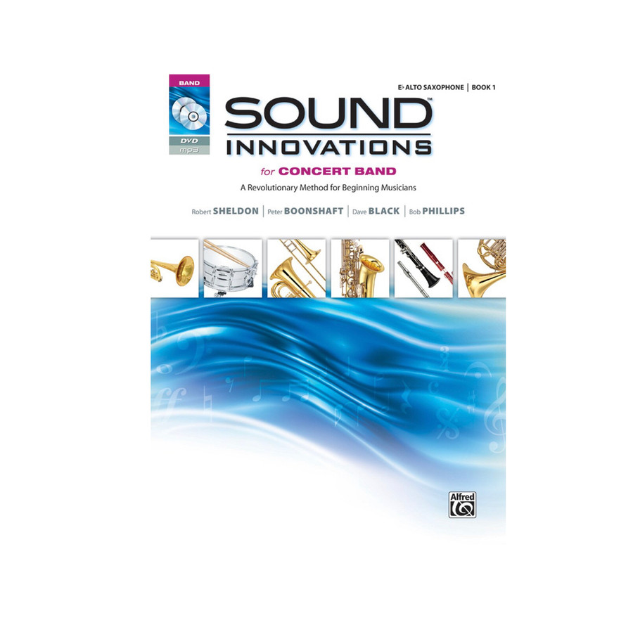 Sound Innovations for Concert Band Book 1 - Alto Sax