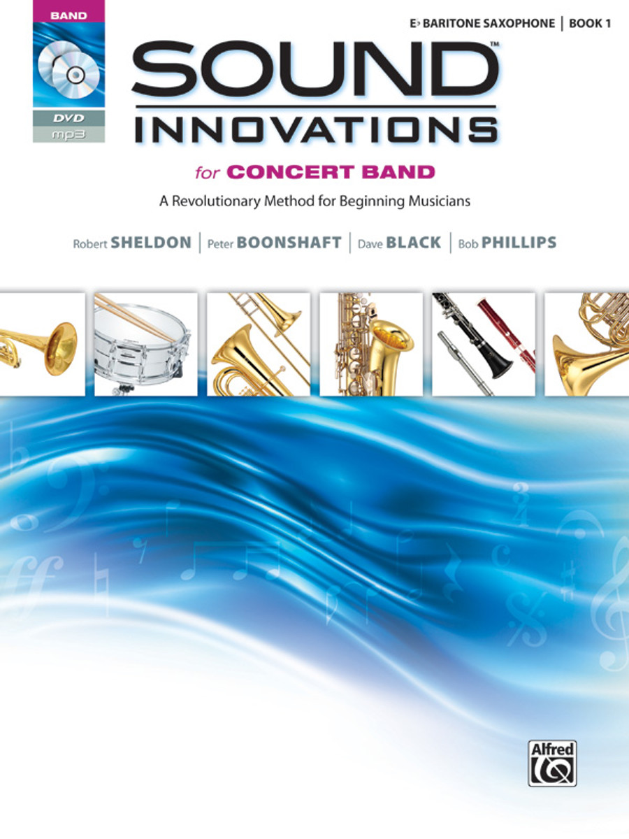 Sound Innovations for Concert Band Book 1 - Bari Sax
