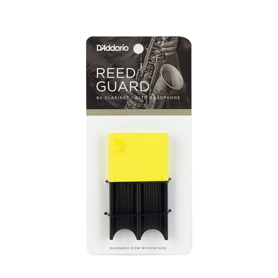D'addario Woodwinds Reedguard Yellow