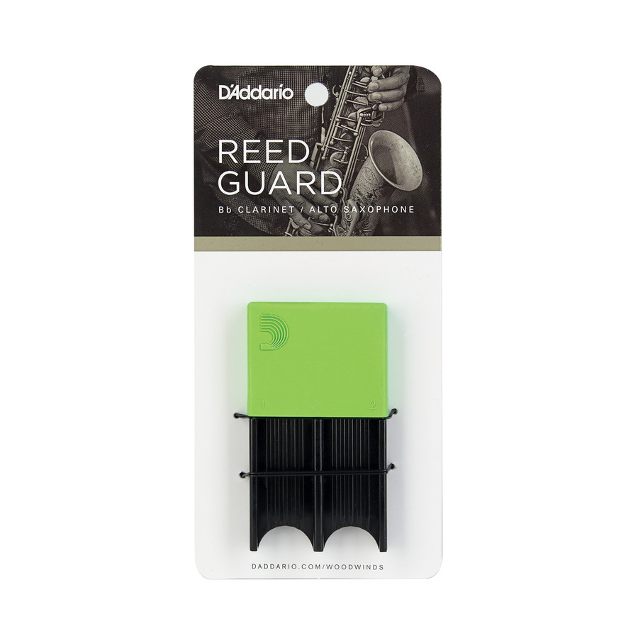 D'addario Woodwinds Reedguard Green