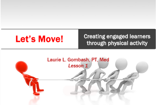 Course Image for Let's Move: Creating Engaged Learners Through Physical Activity