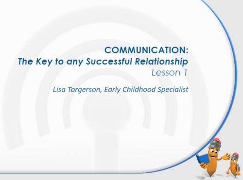 Course Image for Communication – The Key to any Successful Relationship