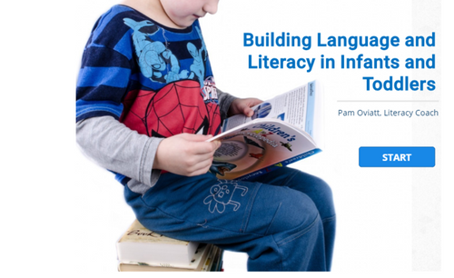 Course Image for Building Language and Literacy Skills in Infants and Toddlers