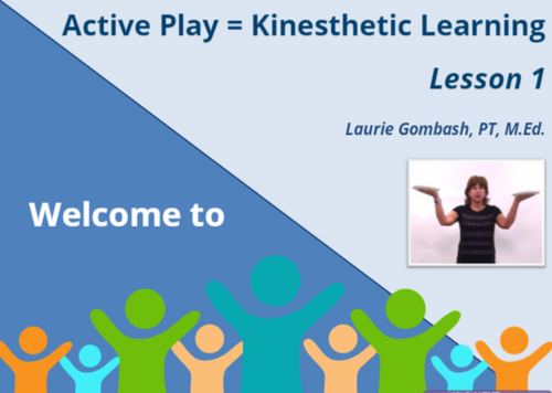 Course Image for Active Play = Kinesthetic Learning