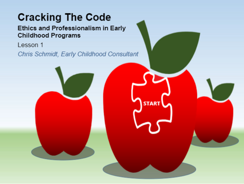 Course Image for Cracking the Code: Ethics and Professionalism in Early Childhood Programs