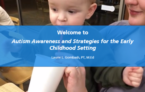 Course Image for Autism Awareness and Strategies for the Early Childhood Setting