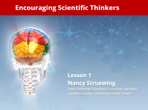 Course Image for Encouraging Scientific Thinkers