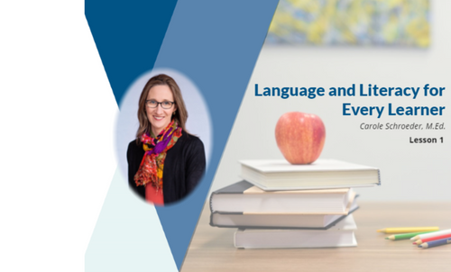 Course Image for Language and Literacy for Every Learner
