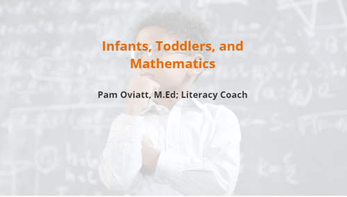 Course Image for Infants, Toddlers, and Mathematics