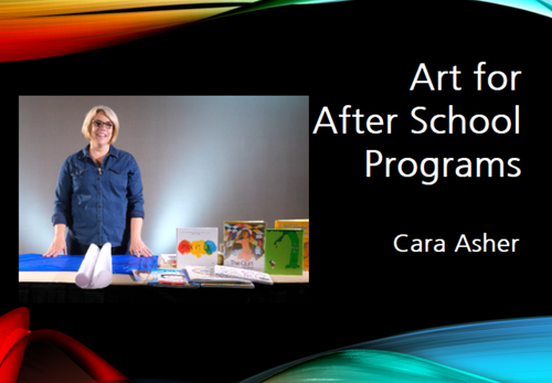 Course Image for Art Projects for After School Programs