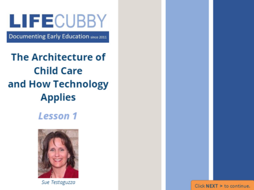 Course Image for The Architecture of Child Care and How Technology Applies