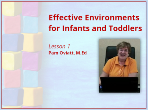 Course Image for Effective Environment for Infants and Toddlers