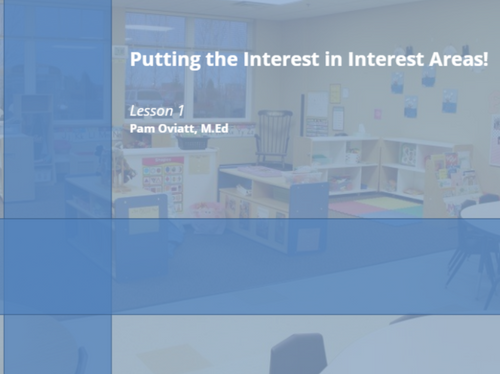 Course Image for Putting the Interest in interest Areas