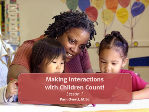 Course Image for Making Interactions with Children Count