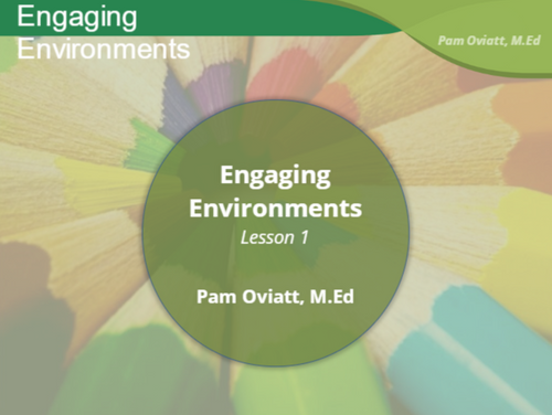 Course Image for Engaging Learning Environments for Infants and Toddlers