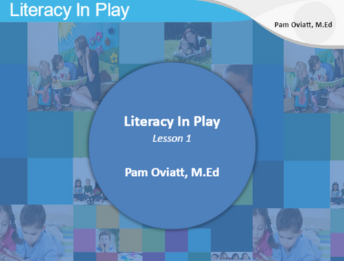 Course Image for Literacy in Play