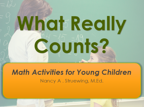 Course Image for What Really Counts? Math Activities for Young Children