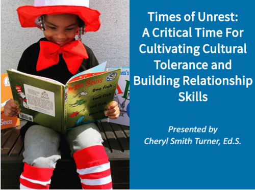 Course Image for Times of Unrest: Cultivating Cultural Tolerance and Building Relationship Skills
