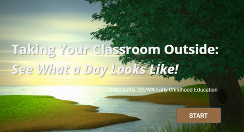 Taking Your Classroom Outside - See What A Day Looks Like!