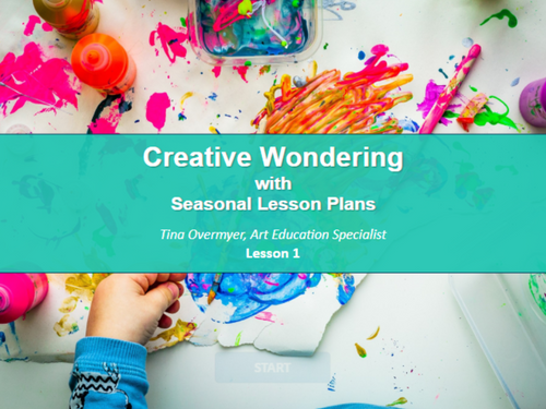 Image for Creative Wondering with Seasonal Lesson Plans