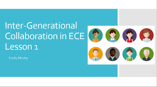 Inter-Generational Collaboration in Early Childhood Education