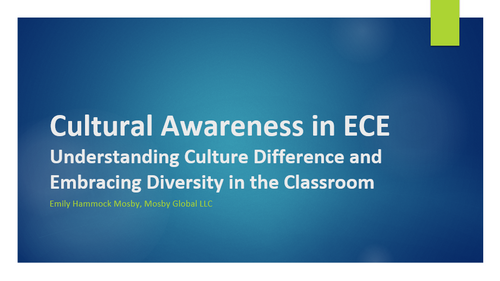 Cultural Awareness in Early Childhood Education