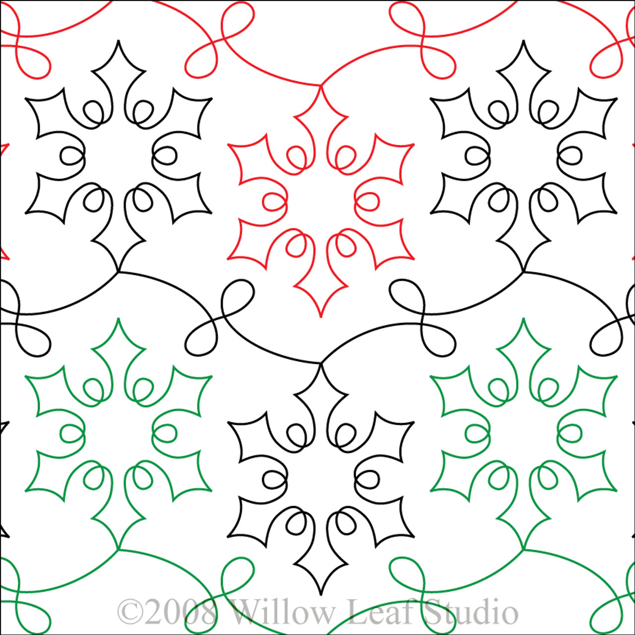 snowflake template for quilting  SNAZZY SNOWFLAKE | Paper Version
