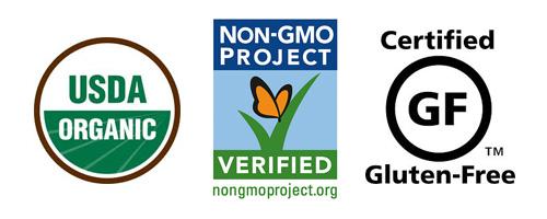 gluten free organic non gmo