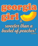 The Georgia Girl Womens Fashion T-Shirt