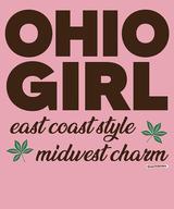 The Ohio Girl Women's Fashion T-Shirt