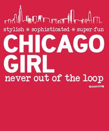 The Chicago Girl Women's Fashion T-Shirt