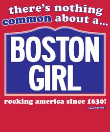 The Boston Girl Women's Fashion T-Shirt