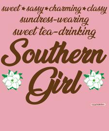 The Southern Girl Women's Fashion T-Shirt