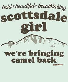 The Scottsdale Girl Women's Fashion T-Shirt