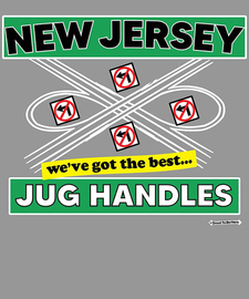 The New Jersey Best Jug Handles Women's Fashion T-Shirt