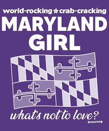 The Maryland Girl Women's Fashion T-Shirt