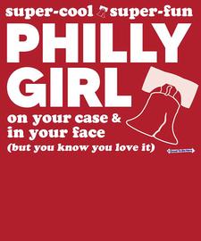 The Philly Girl Philadelphia Women's Fashion T-Shirt
