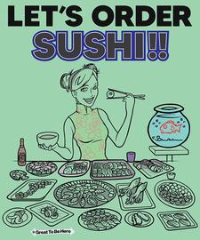 The Let's Order Sushi! Women's Fashion T-Shirt