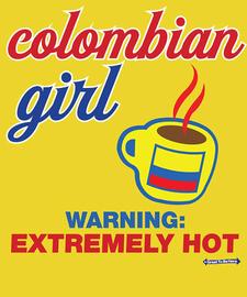 The Colombian Girl Women's Fashion T-Shirt