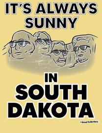 The South Dakota - It's Always Sunny Men's/Unisex Fashion T-Shirt