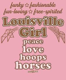 The Louisville Girl Women's Fashion T-Shirt
