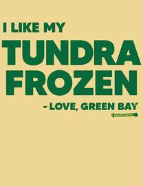 The Green Bay Frozen Tundra Women's Fashion T-Shirt