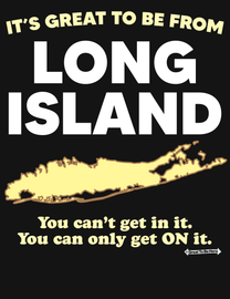 The Long Island Great To Be Here Men's / Unisex Fashion T-Shirt