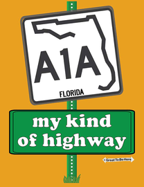 The Florida A1A My Kind of Highway Women's Fashion T-Shirt
