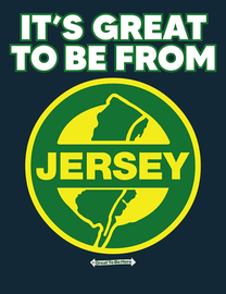 The New Jersey Great To Be Here Men's/Unisex Fashion T-Shirt