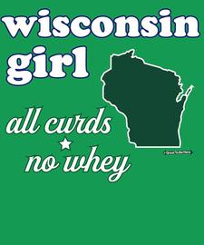 The Wisconsin Girl Women's Fashion T-Shirt