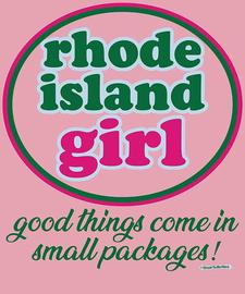"""The Rhode Island Girl """"Good Things"""" Women's Fashion T-Shirt"""